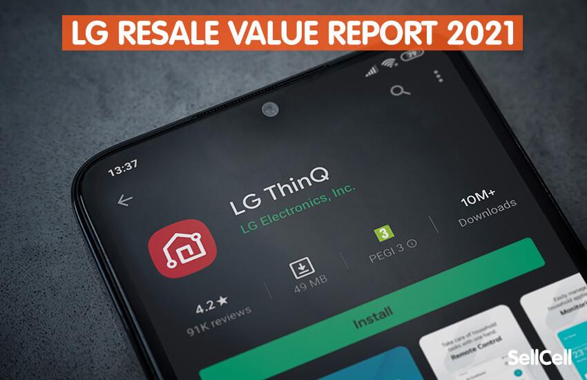 LG Resale Value Report 2021
